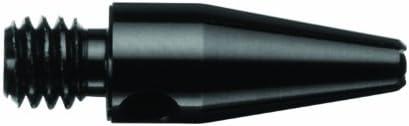 35-6601-01 - 3 Sets of 3 - 2BA Black Aluminum Micro 34quot Dart Shafts - DART BROKERS