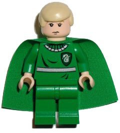 Buy Low Price LEGO Draco Malfoy (Green Quidditch Uniform, LF) – LEGO Harry Potter 2″ Figure (B001L1FK84)