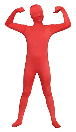Red Skin Suit Kids Costume