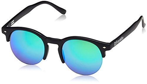 dfranklin-america-black-matt-lunettes-de-soleil-unisex-vert-unic-annees