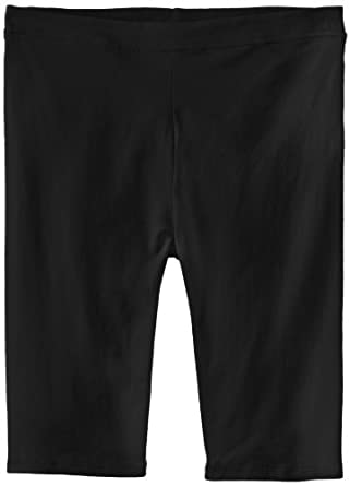 Wish You Well Big Girls' Everyday Bike Shorts, Black, 7/8