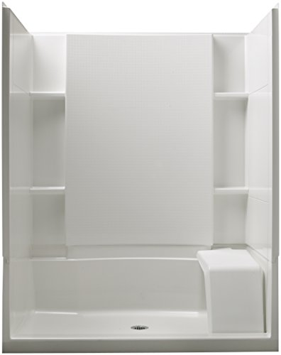 Sterling-Plumbing-72290100-0-Accord-36-Inch-x-60-Inch-x-74-12-Inch-Standard-Fit-Shower-Kit-with-Seat-White