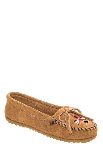 Minnetonka 607t Thunderbird Ii Casual Flat Shoe