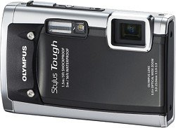 Olympus Stylus Tough 6020 14 MP Digital Camera with 5x Wide-Angle Zoom and 2.7-Inch LCD (Black)