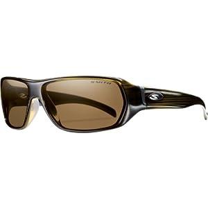 Smith Optics Pavilion Premium Lifestyle Polarized Sports Sunglasses - Olive Stripe/Brown / Size 63-13-125