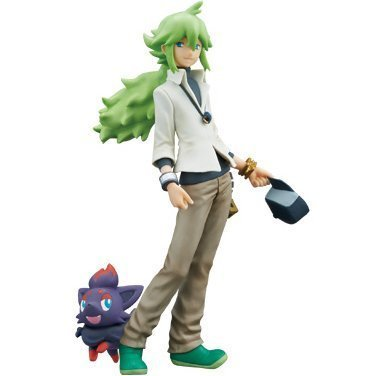 Pokemon Black & White DXF Figure Partners N - Natural Harmonia Gropius with Zorua (48520) (Zorua Figure compare prices)
