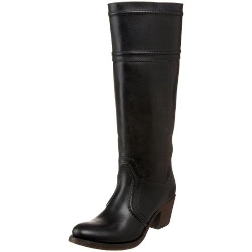 Frye Women'S Jane 14L Boot: Extended,Black Smooth Full Grain Extended,9 M Us