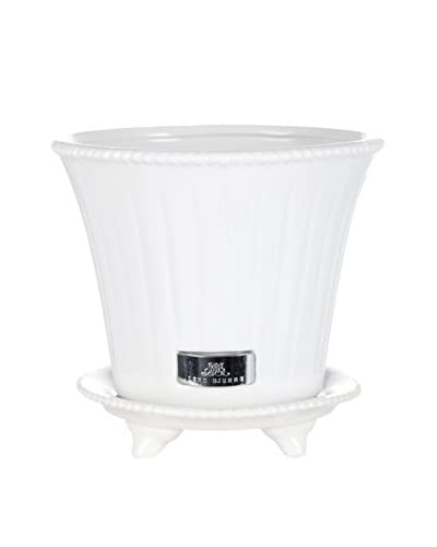 Lene Bjerre Paulina Large Flower Pot, White