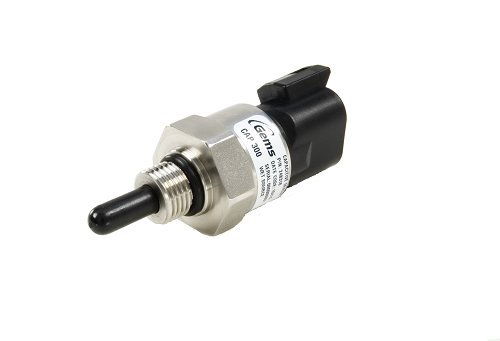Gems Sensors 244521 CAP-300 Reliable Coolant Level Sensor, Wet Source, Stainless Steel Stem, 1/4