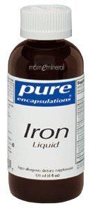 Iron Liquid 4 fl oz by Pure Encapsulations