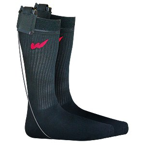 Warmthru Rechargeable Battery Heated Socks - BLACK