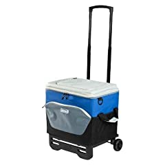 Coleman 60-CAN COLLAPSIBLE WHEELED COOLER new for 2013 by Coleman
