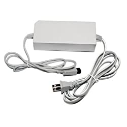 Ac Adapter Power Cord Cable Supply For Nintendo Wii Usa