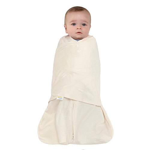 HALO SleepSack Swaddle 100% Cotton Cream
