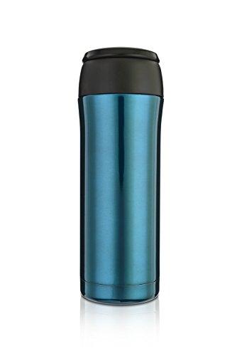 Highwave JOEmo 13oz Vacuum Stainless Steel Travel Mug Color Aqua (Joemo Travel Mug Lid compare prices)