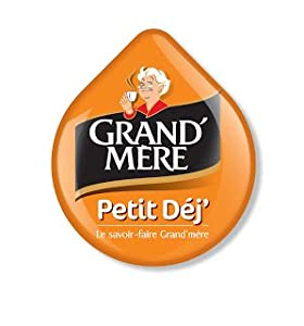 Buy Grandmere Petit Dejeuner Coffee Pods for Tassimo , Large Cup Size - (16 T discs) - Tassimo