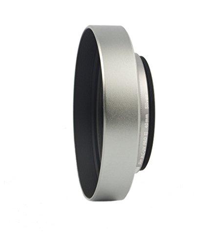 PROFOX / HAIDA Neu für Fujifilm X10/ X20 / X30 - Sonnenblende (silberfarben) und Spezialfilter 40mm von HAIDA - Pro II Slim UV Digital MC