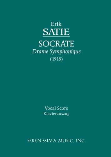 Socrate Vocal score  [Erik Satie] (Tapa Blanda)