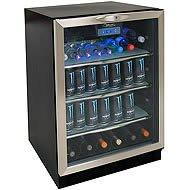 "Danby Beverage Center (Black) (23.88""H x 23.75""W x 34.38""D)"