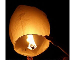 Fire in the Sky Lantern