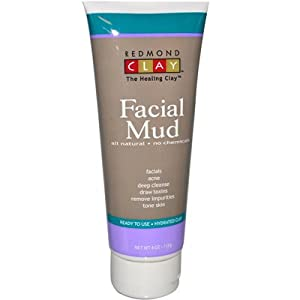 Redmond Facial Mud Hydrated Clay, 4 Ounce