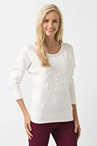 Long Sleeve Embroidered Sweatshirt