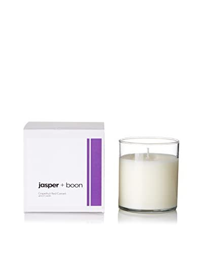 Bluewick Candles 12-Oz. Grapefruit & Red Currant Jasper + Boon Boxed Candle