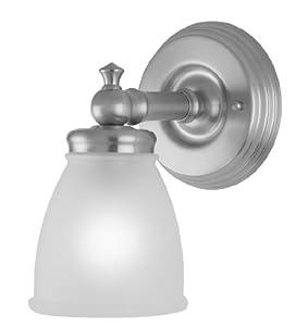 Checkolite 17061 63 delta victorian 1 light vanity - Victorian bathroom lighting fixtures ...