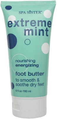 Buy Spa Sister Extreme Mint Nourishing Energizing Foot Butter 180ml/6oz