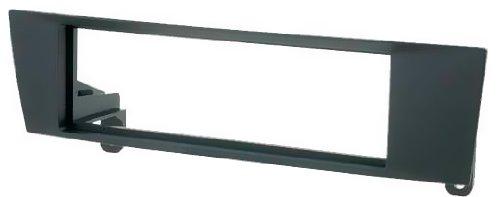 6203-Autoradio-Radioblende-fr-BMW-1er-E81E82E87E88-BMW-3er-E90E91E92E93-BLENDE-RAHMEN-EINBAURAHMEN-in-schwarz