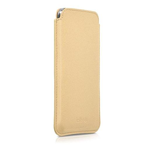 kalibri-Leder-Tasche-Hlle-fr-Samsung-Galaxy-S5-S5-Neo-S5-Duos-Handy-Case-Cover-Echtleder-Schutzhlle-in-Sand