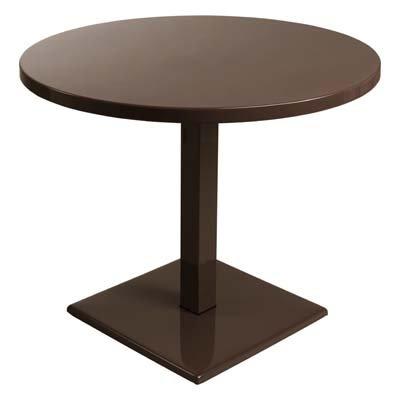 EMU Gartentisch Esstisch Tisch Round 75x90 cm rund (braun)