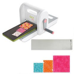 Accuquilt Go! Baby Fabric Cutter (55300) With Free Die And Mat front-865539