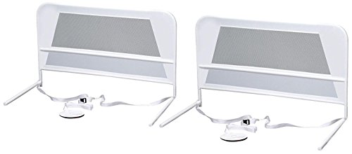 KidCo-2-Pack-Chidrens-Mesh-Bed-Rail-White