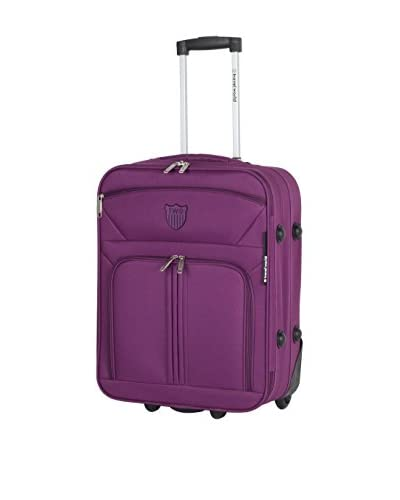 TRAVEL WORLD Trolley semirrígido 91171 Morado