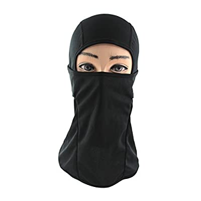 Premium Balaclava Multipurpose Black Mask - Wear It on a Motorcycle, for Cycling, or As a Beanie, Gaiter, Ski Hat, Ski Masks, & Hood - for Men & Women - Protect Your Face Comfortably From the Elements (Cold, Mist, Sun, & Wind) Now!