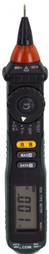 Mastech Ms8211 Pen-Type Auto-Ranging Digital Multimeter With Non-Contact Ac Voltage Detector