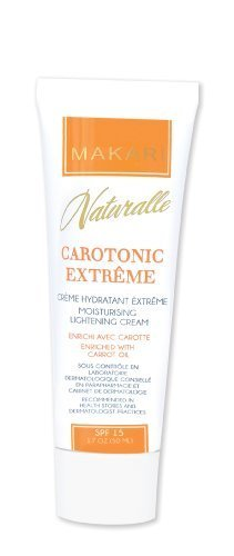 Makari Naturalle Carotonic Extreme Moisturizing Lightening Cream; Enriched with Carrot Oil; SPF 15 by Makari De Suisse (English Manual)
