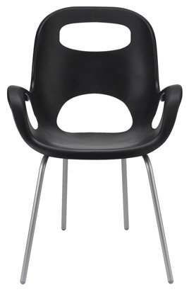 Umbra Oh Polypropylene Chair, Black