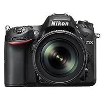 Nikon D7200 24.2 MP Digital SLR Camera (Black) with AF-S 18-140mm VR Kit Lens and 8GB Card, Camera Bag