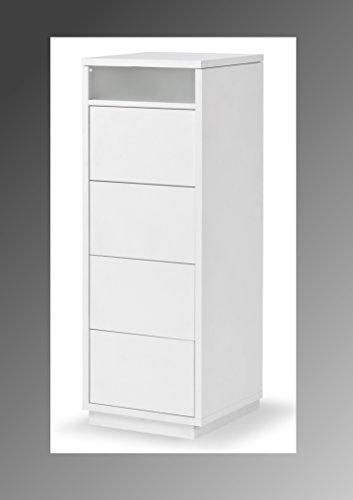 Kommode-Schubladenschrank-Highboard-Anrichte-TV-Lowboard-Schrank-Wei-Dekor-Schubladenschrank