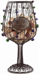 Wine Glass Cork Cage,accessories for wine