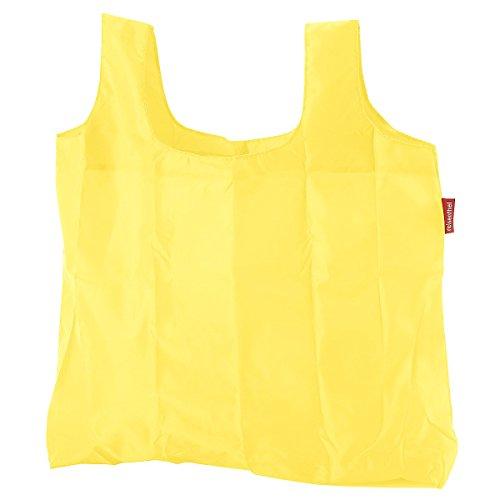 Reisenthel Mini Maxi Shopper, Borsa della Spesa, per Shopping, Old Style, Bright Yellow, AO2021