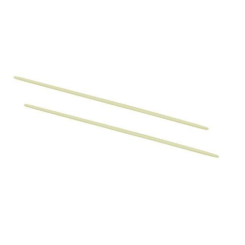 ACCO 50104 Data Flex 8-1/2 Nylon Posts for top/bottom Loading Binders, 6 cap., 20/pack