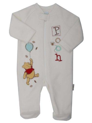 Winnie the Pooh fleece Cream TINY BABY