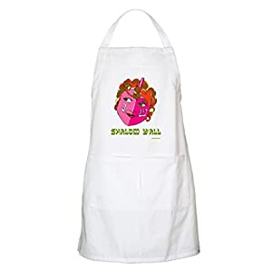 100% Cotton Machine Washable Kitchen Apron Cooking Apron Baking Apron with 2 Pockets-