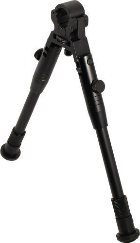 Review UTG Tactical Low-profile Universal Foldable Clamp-on Bipod