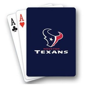 Playingcards Houston Texans Playing Cards From Psg Nfl Fan National Football League... by MLBdaregot