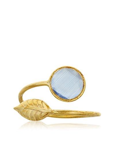 Cordoba Anillo plata de ley 925 milésimas bañada en oro