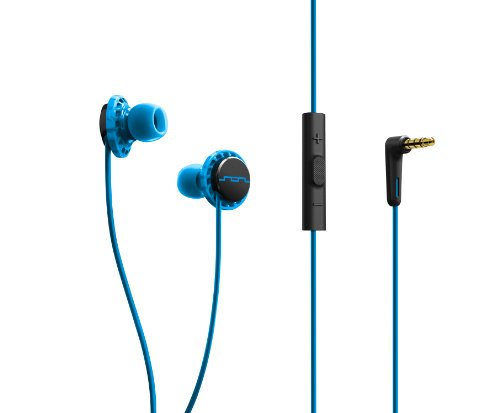Sol Republic 1131-36 Relays 3-Button In-Ear Headphones - Horizon Blue